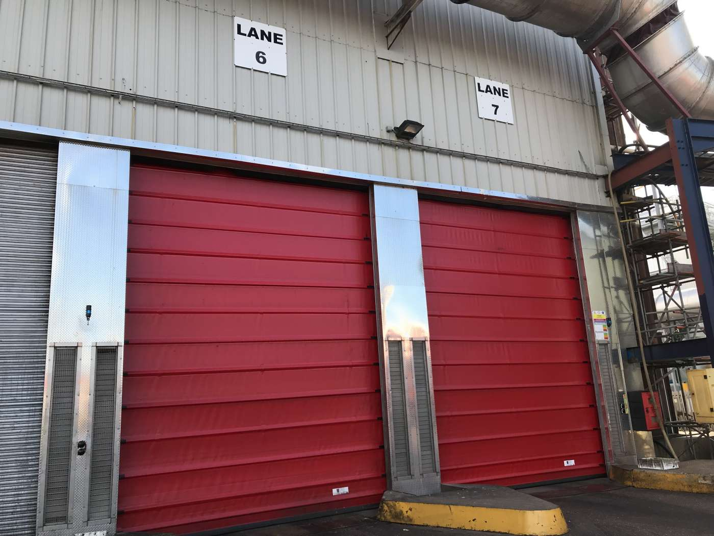 New High Speed Doors to the Food Sector