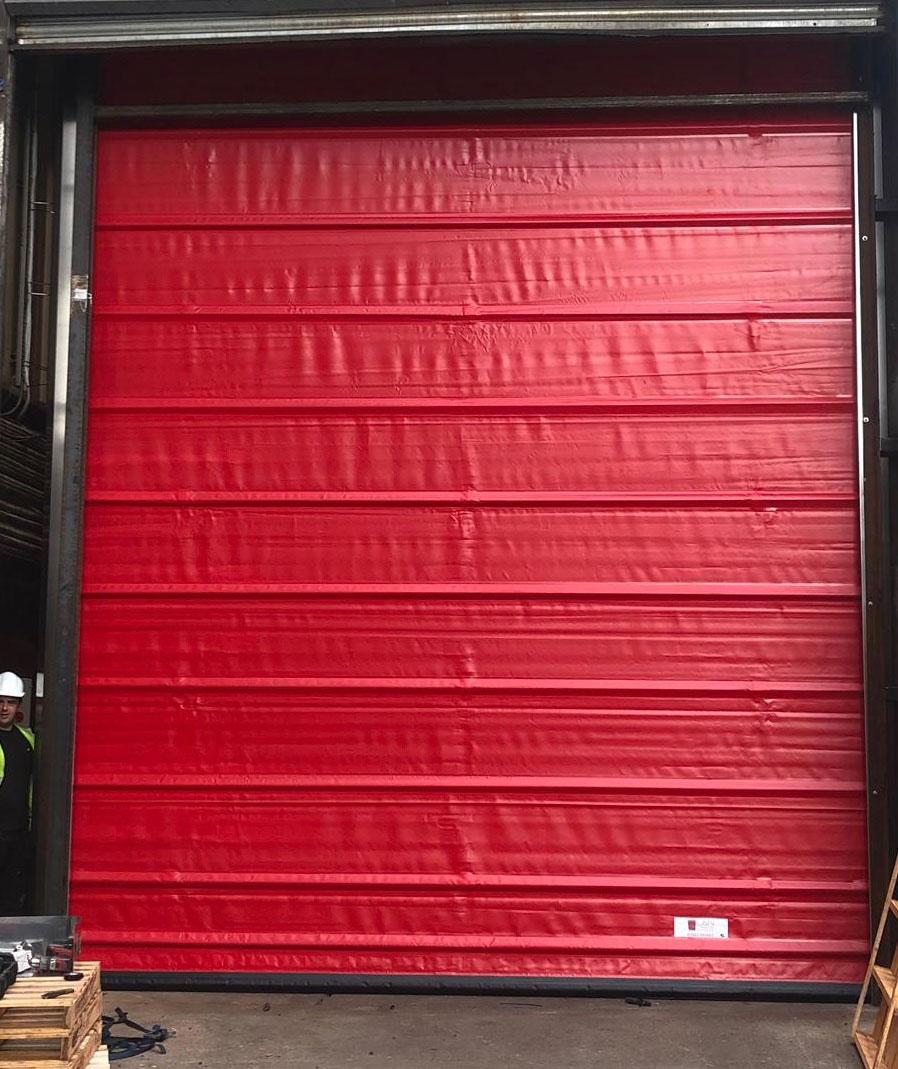 Interlocked/Airlocked High Speed Door