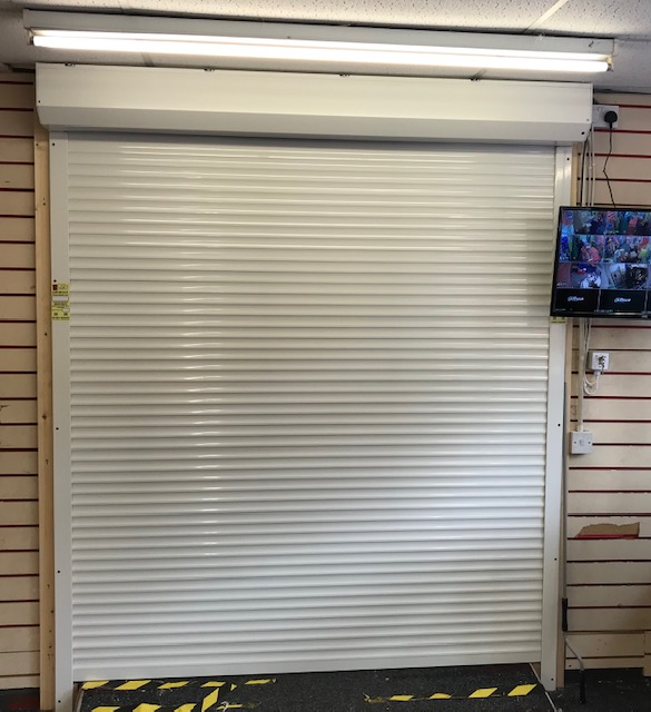 Roller Shutter Fitted To Shop in Hull