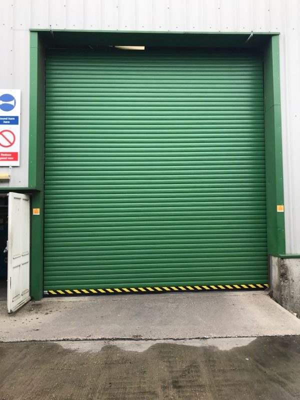 2 New Insulated Speed Flex Doors Grimsby
