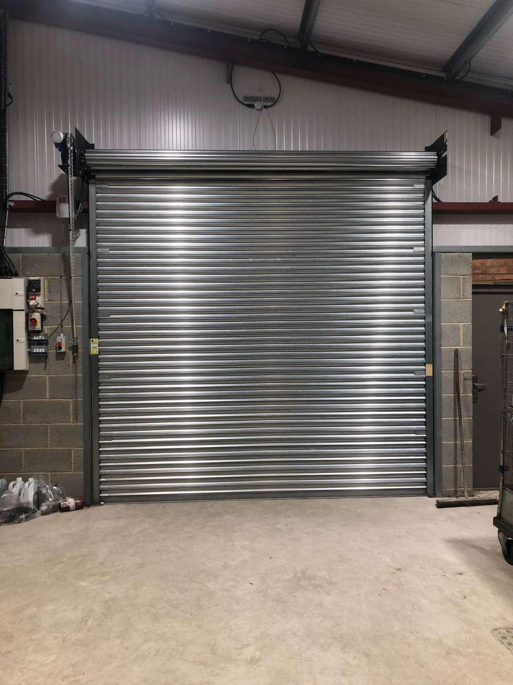Industrial Galvanised Roller Door Scunthorpe