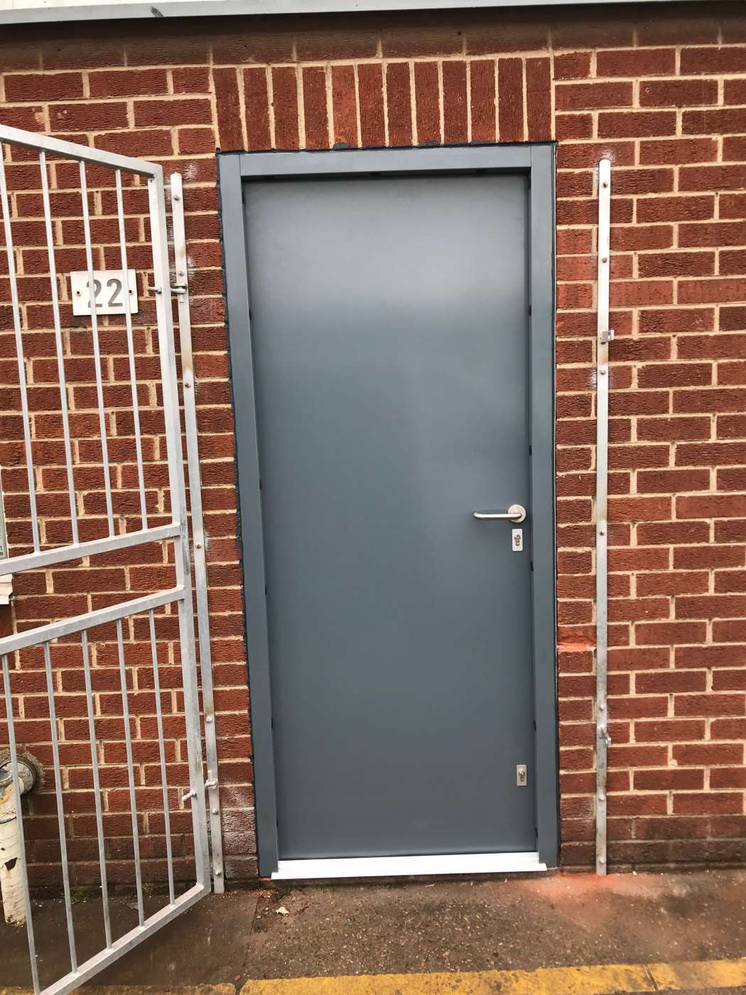 Very Busy Week So Far! 6 New High Level Steel Security Doors Fitted.