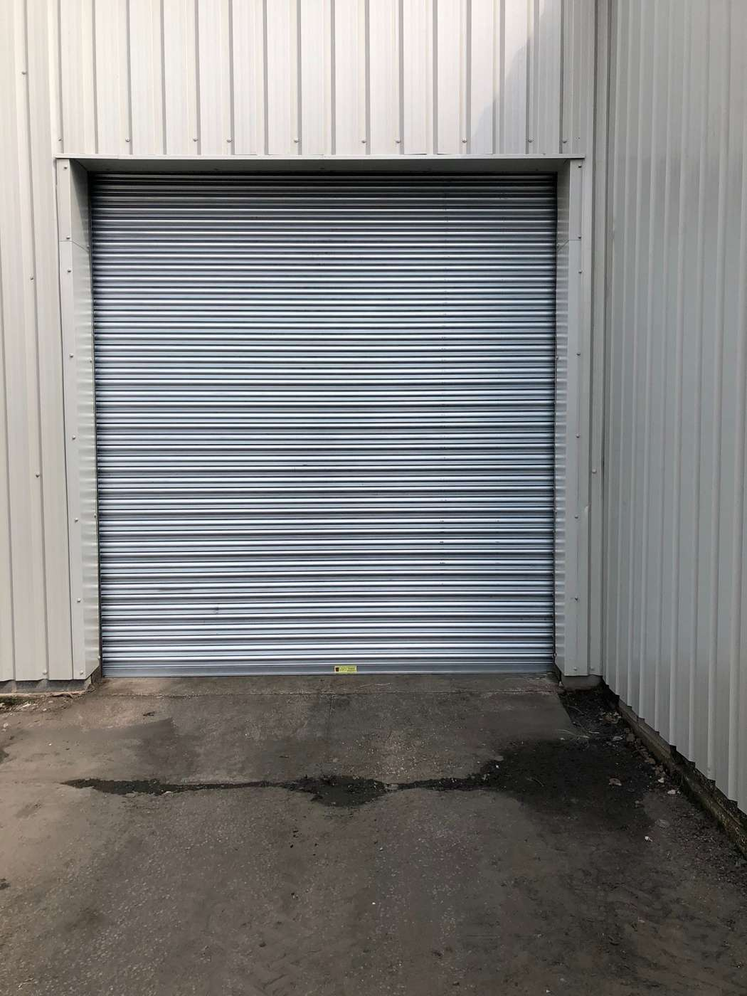 New Industrial Roller Shutter Fitted Yorkshire