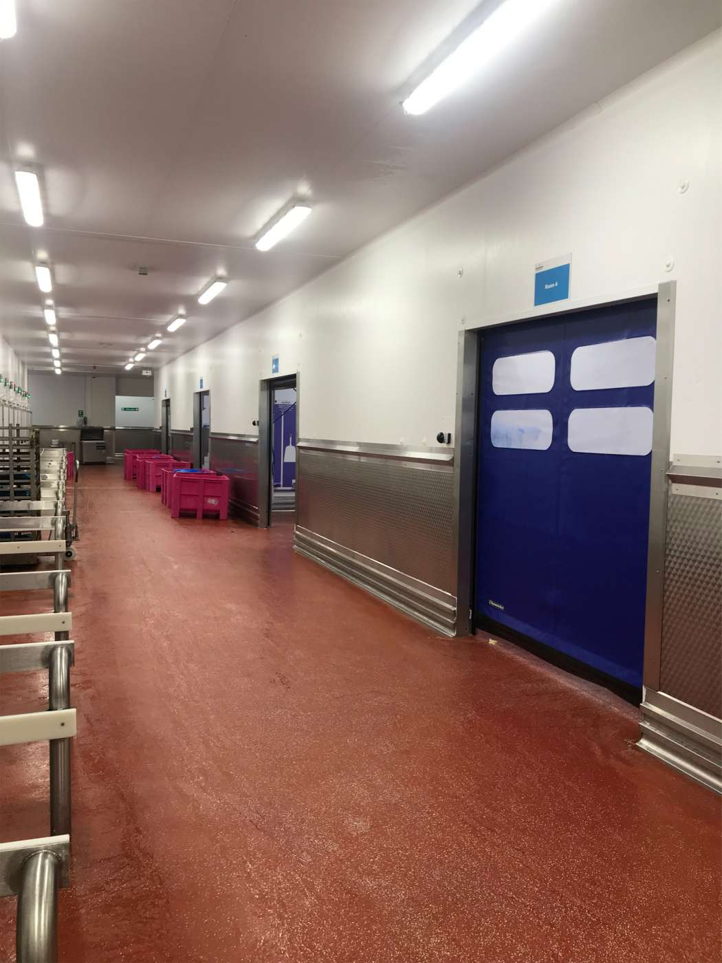 4 New High Speed Doors Fitted Hull